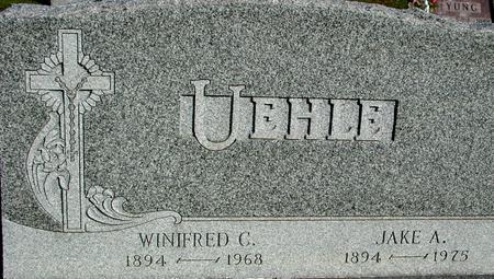 UEHLE, WINIFRED & JAKE - Woodbury County, Iowa | WINIFRED & JAKE UEHLE