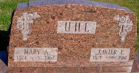 UHL, XAVIER & MARY - Woodbury County, Iowa | XAVIER & MARY UHL