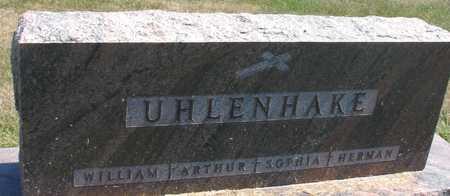 UHLENHAKE, ARTHUR, SOPHIA, WM. - Woodbury County, Iowa   ARTHUR, SOPHIA, WM. UHLENHAKE