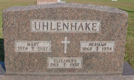 UHLENHAKE, HERMAN & MARY - Woodbury County, Iowa | HERMAN & MARY UHLENHAKE