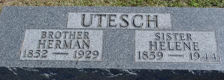 UTESCH, HERMAN & HELENE - Woodbury County, Iowa | HERMAN & HELENE UTESCH