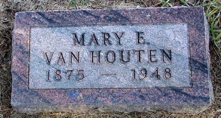 VAN HOUTEN, MARY E. - Woodbury County, Iowa | MARY E. VAN HOUTEN