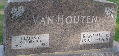VAN HOUTEN, RANDALL & GLADYS - Woodbury County, Iowa   RANDALL & GLADYS VAN HOUTEN