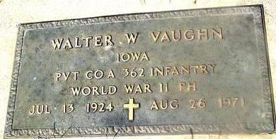 VAUGHN, WALTER W. - Woodbury County, Iowa | WALTER W. VAUGHN