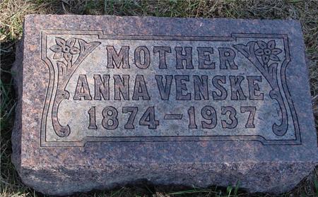 VENSKE, ANNA - Woodbury County, Iowa   ANNA VENSKE