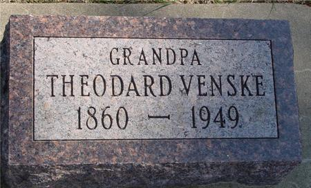 VENSKE, THEODARD - Woodbury County, Iowa | THEODARD VENSKE
