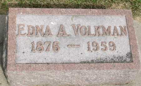 VOLKMAN, EDNA A. - Woodbury County, Iowa | EDNA A. VOLKMAN