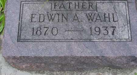 WAHL, EDWIN A. - Woodbury County, Iowa | EDWIN A. WAHL