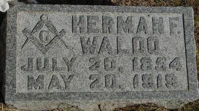 WALDO, HERMAN F. - Woodbury County, Iowa | HERMAN F. WALDO