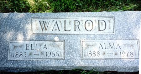 WALROD, ELI  A. - Woodbury County, Iowa | ELI  A. WALROD