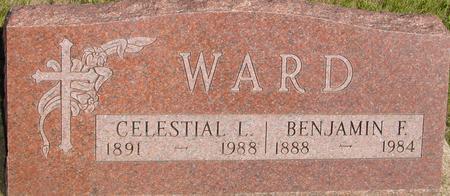 WARD, BEN F & CLESTIAL L. - Woodbury County, Iowa | BEN F & CLESTIAL L. WARD