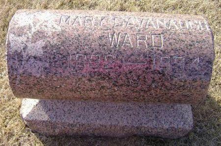 CAVANAUGH WARD, MARY - Woodbury County, Iowa   MARY CAVANAUGH WARD