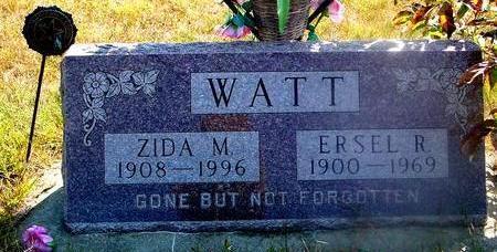 WATT, ERSEL R. & ZIDA - Woodbury County, Iowa | ERSEL R. & ZIDA WATT