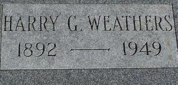 WEATHERS, HARRY G. - Woodbury County, Iowa | HARRY G. WEATHERS