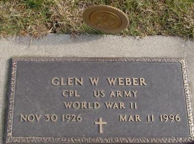 WEBER, GLEN W. - Woodbury County, Iowa   GLEN W. WEBER