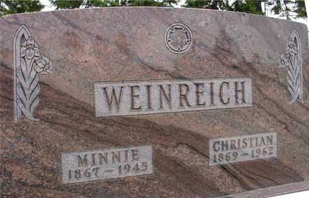 WEINREICH, CHRISTIAN & MINNIE - Woodbury County, Iowa | CHRISTIAN & MINNIE WEINREICH
