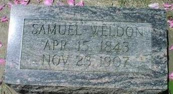 WELDON, SAMUEL - Woodbury County, Iowa   SAMUEL WELDON