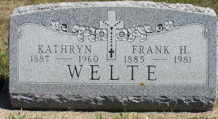 WELTE, FRANK H. & KATHRYN - Woodbury County, Iowa | FRANK H. & KATHRYN WELTE