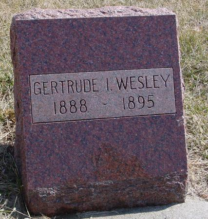 WESLEY, GERTRUDE I. - Woodbury County, Iowa | GERTRUDE I. WESLEY