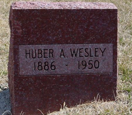 WESLEY, HUBER A. - Woodbury County, Iowa | HUBER A. WESLEY