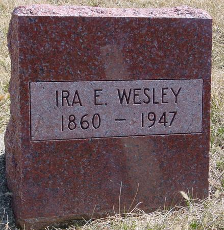 WESLEY, IRA E. - Woodbury County, Iowa | IRA E. WESLEY