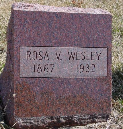 WESLEY, ROSA V. - Woodbury County, Iowa | ROSA V. WESLEY