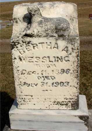 WESSLING, BERTHA A. - Woodbury County, Iowa   BERTHA A. WESSLING
