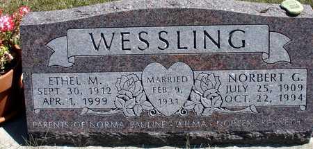 WESSLING, NORBERT & ETHEL M. - Woodbury County, Iowa | NORBERT & ETHEL M. WESSLING