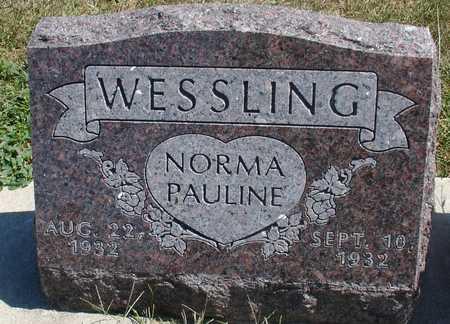 WESSLING, NORMA PAULINE - Woodbury County, Iowa | NORMA PAULINE WESSLING