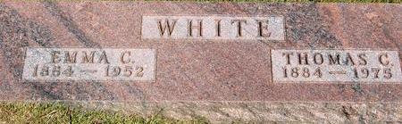 WHITE, THOMAS C. & EMMA - Woodbury County, Iowa | THOMAS C. & EMMA WHITE