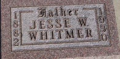 WHITMER, JESSE W. - Woodbury County, Iowa | JESSE W. WHITMER