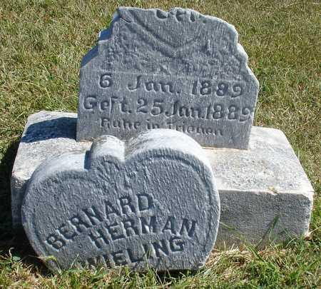 WIELING, BERNARD HERMAN - Woodbury County, Iowa   BERNARD HERMAN WIELING