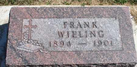 WIELING, FRANK - Woodbury County, Iowa | FRANK WIELING