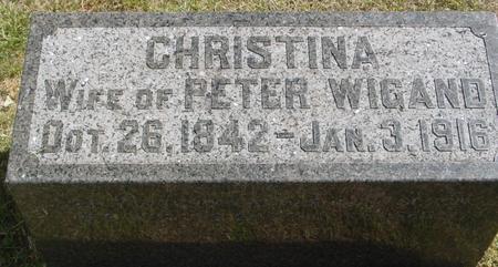 WIGAND, CHRISTINA - Woodbury County, Iowa | CHRISTINA WIGAND