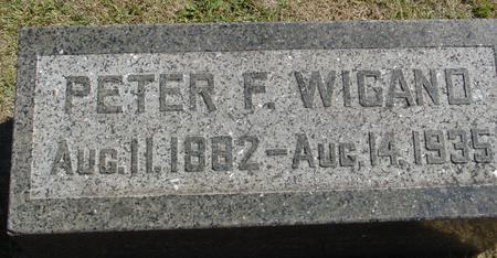 WIGAND, PETER F. - Woodbury County, Iowa | PETER F. WIGAND