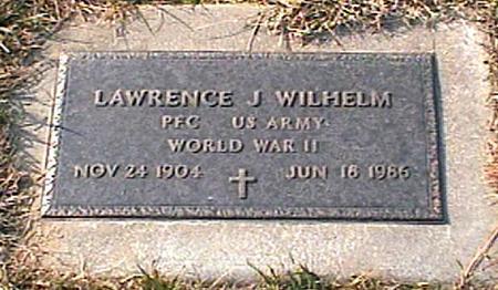WILHELM, LAWRENCE - Woodbury County, Iowa | LAWRENCE WILHELM