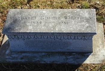 GOUDIE WILLIGES, MARGARET - Woodbury County, Iowa | MARGARET GOUDIE WILLIGES