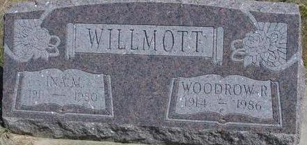 WILLMOTT, WOODROW & INA - Woodbury County, Iowa | WOODROW & INA WILLMOTT