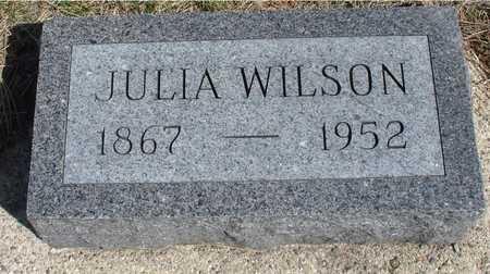 WILSON, JULIA - Woodbury County, Iowa | JULIA WILSON