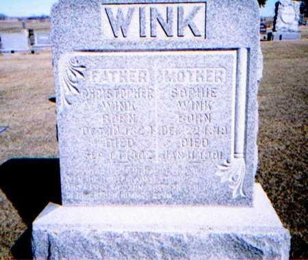 WINK, SOPHIA - Woodbury County, Iowa   SOPHIA WINK