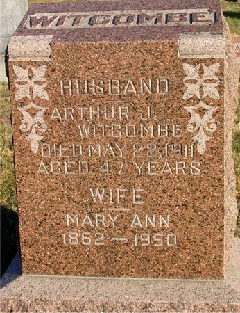 WITCOMBE, ARTHUR J. & MARY A. - Woodbury County, Iowa | ARTHUR J. & MARY A. WITCOMBE