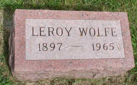 WOLFE, LEROY - Woodbury County, Iowa | LEROY WOLFE