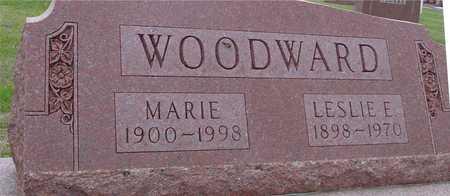 WOODWARD, LESLIE & MARIE - Woodbury County, Iowa   LESLIE & MARIE WOODWARD