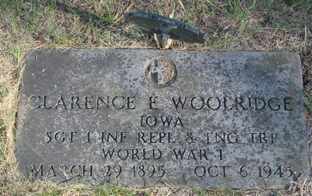 WOOLRIDGE, CLARENCE - Woodbury County, Iowa | CLARENCE WOOLRIDGE