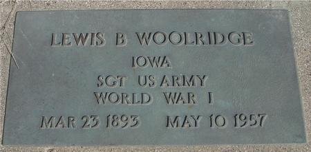 WOOLRIDGE, LEWIS B. - Woodbury County, Iowa | LEWIS B. WOOLRIDGE