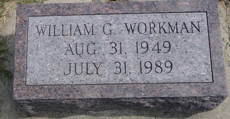WORKMAN, WILLIAM G. - Woodbury County, Iowa | WILLIAM G. WORKMAN