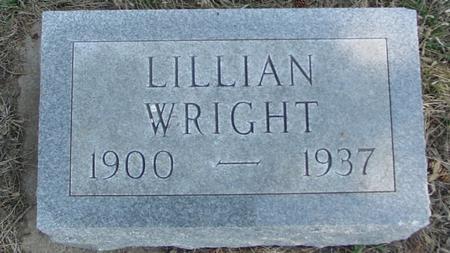 WRIGHT, LILLIAN - Woodbury County, Iowa | LILLIAN WRIGHT