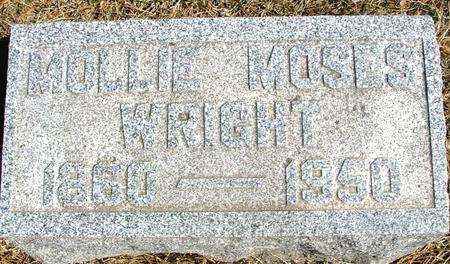 MOSES WRIGHT, MOLLIE - Woodbury County, Iowa | MOLLIE MOSES WRIGHT