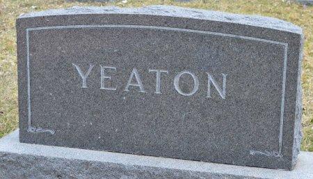YEATON, *FAMILY MONUMENT - Woodbury County, Iowa | *FAMILY MONUMENT YEATON