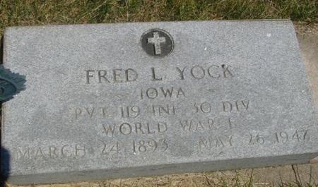YOCK, FRED  L. - Woodbury County, Iowa | FRED  L. YOCK